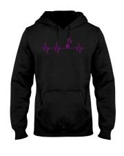 HORSE HEARTBEAT Hooded Sweatshirt tile