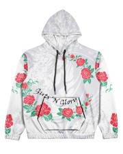 GUTS 'N GLORY Women's All Over Print Hoodie front