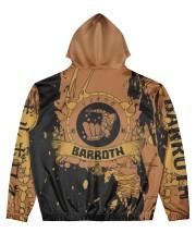 BARROTH - SUBLIMATION-V3 Men's All Over Print Hoodie back