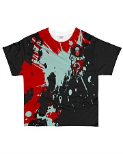 PYKE - SUBLIMATION All-over T-Shirt front