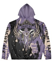 NIGHT-ELF - SUBLIMATION Men's All Over Print Hoodie back