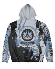 XENO'JIIVA - SUBLIMATION-V3 Men's All Over Print Hoodie back