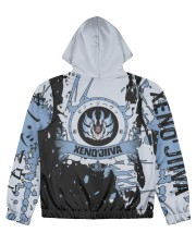 XENO'JIIVA - SUBLIMATION-V3 Women's All Over Print Full Zip Hoodie tile