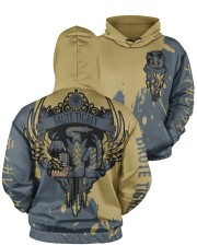 BRUTE TIGREX - SUBLIMATION Men's All Over Print Hoodie aos-men-hoodie-ghosted-front-05