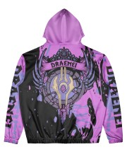 DRAENEI - SUBLIMATION Men's All Over Print Hoodie back