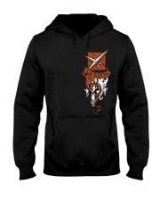 LESION - CREST EDITION-DS Hooded Sweatshirt tile