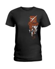 LESION - CREST EDITION-DS Ladies T-Shirt tile