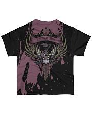 SCARRED YIAN GARUGA - SUBLIMATION-V3 All-over T-Shirt back