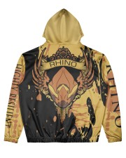 RHINO - ELITE SUBLIMATION Men's All Over Print Hoodie back