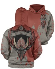 BAZELGEUSE - SUBLIMATION Men's All Over Print Hoodie aos-men-hoodie-ghosted-front-05