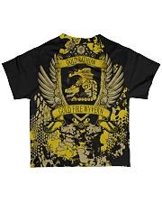GOLD RATHIAN - ELITE SUBLIMATION All-over T-Shirt back