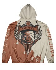 SAFI'JIIVA - SUBLIMATION Men's All Over Print Hoodie back
