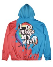DASHIE - SUBLIMATION Men's All Over Print Hoodie back