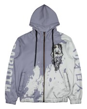 BARIOTH - SUBLIMATION Men's All Over Print Full Zip Hoodie tile