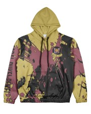 CORAL PUKEI-PUKEI - SUBLIMATION-V3 Women's All Over Print Hoodie tile