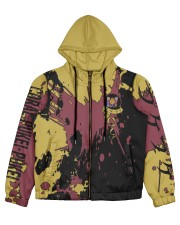 CORAL PUKEI-PUKEI - SUBLIMATION-V3 Women's All Over Print Full Zip Hoodie tile