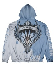 XENO'JIIVA - SUBLIMATION Men's All Over Print Hoodie back