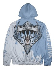 XENO'JIIVA - SUBLIMATION Men's All Over Print Full Zip Hoodie tile