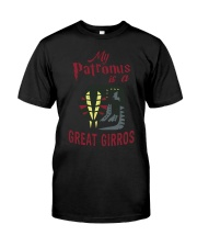 GREAT GIRROS IS MY PATRONUS Classic T-Shirt front