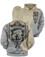 SILVER RATHALOS - SUBLIMATION Men's All Over Print Hoodie aos-men-hoodie-ghosted-front-05