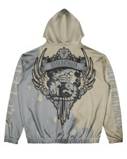 SILVER RATHALOS - SUBLIMATION Men's All Over Print Hoodie back