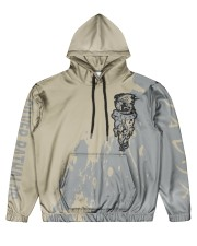 SILVER RATHALOS - SUBLIMATION Men's All Over Print Hoodie front