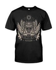 KRIEG - LIMITED EDITION-V4 Classic T-Shirt front