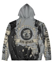 SILVER RATHALOS - SUBLIMATION-V3 Men's All Over Print Hoodie back