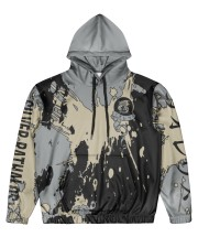 SILVER RATHALOS - SUBLIMATION-V3 Men's All Over Print Hoodie front