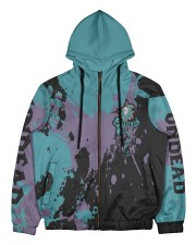 UNDEAD - SUBLIMATION Men's All Over Print Full Zip Hoodie tile