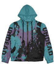 UNDEAD - SUBLIMATION Women's All Over Print Full Zip Hoodie tile