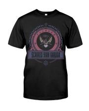 SCARRED YIAN GARUGA - ORIGINAL EDITION-V8 Classic T-Shirt front