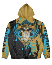 HUMAN - SUBLIMATION Men's All Over Print Hoodie back