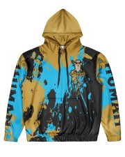 HUMAN - SUBLIMATION Men's All Over Print Hoodie front