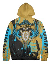 HUMAN - SUBLIMATION Men's All Over Print Full Zip Hoodie tile