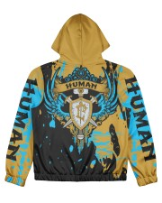 HUMAN - SUBLIMATION Women's All Over Print Full Zip Hoodie tile