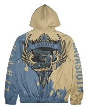 LAVASIOTH - SUBLIMATION Men's All Over Print Full Zip Hoodie tile