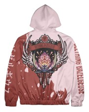 SEETHING BAZELGEUSE - SUBLIMATION Men's All Over Print Full Zip Hoodie tile