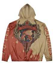 RATHALOS - SUBLIMATION Men's All Over Print Hoodie back