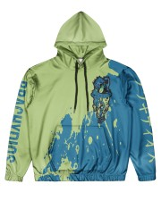 BRACHYDIOS - SUBLIMATION Men's All Over Print Hoodie front