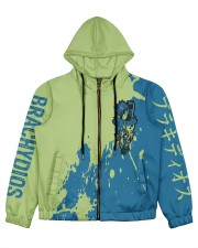 BRACHYDIOS - SUBLIMATION Women's All Over Print Full Zip Hoodie tile
