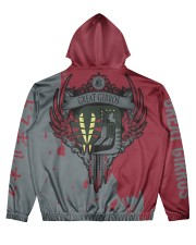 GREAT GIRROS - SUBLIMATION Men's All Over Print Hoodie back