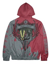 GREAT GIRROS - SUBLIMATION Men's All Over Print Full Zip Hoodie tile
