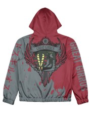 GREAT GIRROS - SUBLIMATION Women's All Over Print Full Zip Hoodie tile