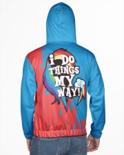 DASHIE - SUBLIMATION Men's All Over Print Hoodie aos-complex-men-hoodie-lifestyle-back-02