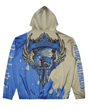 AZURE RATHALOS - SUBLIMATION Men's All Over Print Hoodie back
