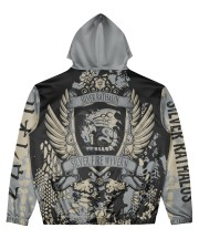 SILVER RATHALOS - SUBLIMATION-V2 Men's All Over Print Hoodie back