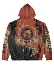 RATHALOS - SUBLIMATION-V3 Men's All Over Print Hoodie back