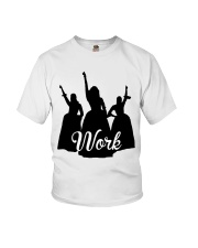 The Schuyler Sisters - Work Youth T-Shirt front