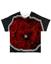 Redroses All-over T-Shirt thumbnail